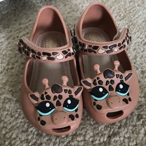 Mini Melissa - Giraffe Shoes